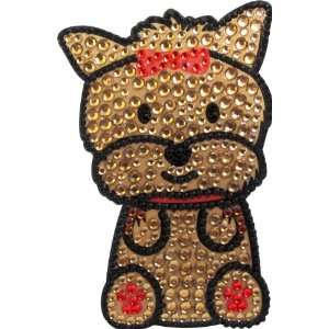 Love Your Breed Rhinestone Sticker, Yorkshire Terrier Pet