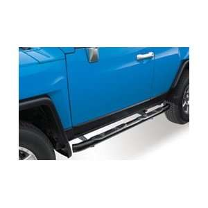 Round Nerf Bars   Black, for the 2007 Toyota FJ Cruiser Automotive