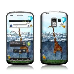 Above The Clouds Design Protective Skin Decal Sticker for LG Optimus Q