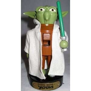 Adler Wooden Nutcracker *Clone War Yoda* Star Wars
