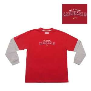 Saint Louis Cardinals MLB Danger Youth Tee (Red)