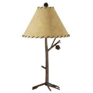 Stone County 904 082 Pine Iron Table Lamp