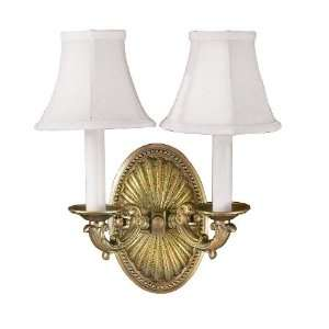World Imports WI620814 French Gold Sconce Traditional / Classic Up