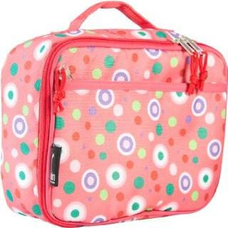 Wildkin Big Dots Hot Pink Lunch Box Wildkin Lunch Box