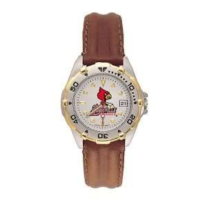 Louisville Cardinals Ladies NCAA All Star Watch (Leather