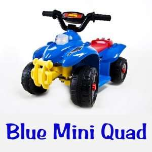 Kids Ride on Battery Power Quad   Blue 4 Wheels ATV   New Toys