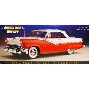 American Muscle Mint 1956 Ford Fairlane Sunliner