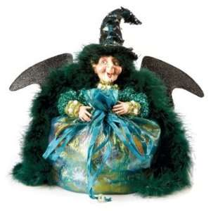 Fashionista Witch Halloween Candy Bag   Grandin Road
