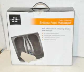 SHARPER IMAGE MSG F110 DEEP KNEADING SHIATSU FOOT MASSAGER NEW
