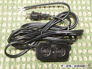 Singer,Brother Sewing Machine Power Cord foot control