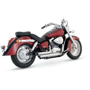 Vance And Hines Shortshots Staggered Exhaust For Yamaha XVS650 1998